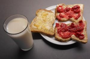 Skiver og melk